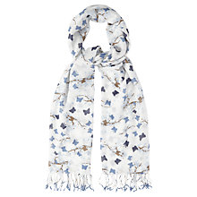 Buy White Stuff Blossom Butterfly Print Scarf, Off White Online at johnlewis.com