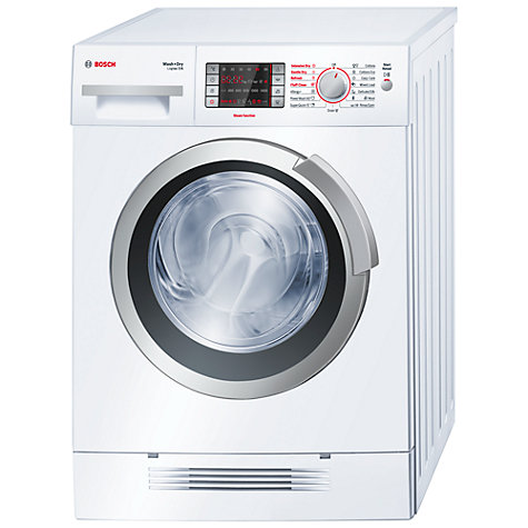Buy Bosch Logixx WVH28421GB Washer Dryer, 7kg Wash/4kg Dry Load, B Energy Rating, 1400rpm Spin, White Online at johnlewis.com
