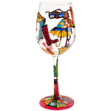 Buy Lolita Here Comes Summer Wine Glass Online at johnlewis.com