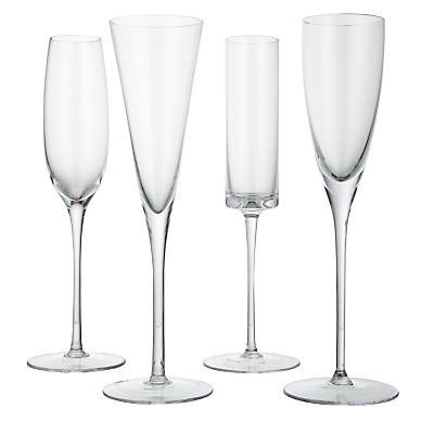 LSA International Lulu Flutes, Set of 4