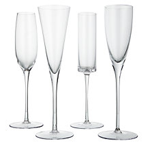 Buy LSA International Lulu Flutes, Set of 4 Online at johnlewis.com