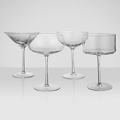 LSA International Lulu Cocktail Glasses, Set of 4