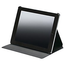 Buy Montblanc Meisterstück Soft Grain Leather Tablet Case for iPad3 and 4, Black Online at johnlewis.com