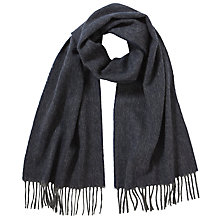 Buy John Lewis Wool Herringbone Scarf Online at johnlewis.com