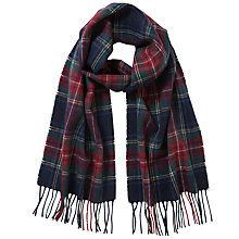 Buy John Lewis Wool Check Scarf, Multi Online at johnlewis.com