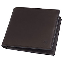 Buy Mulberry 8 Card Coin Wallet, Chocolate Online at johnlewis.com
