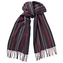 Buy John Lewis Cashmink Stripe Scarf Online at johnlewis.com