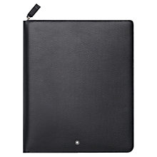 Buy Montblanc Meisterstück Soft Grain Leather Business Companion for iPad 3 and 4, Black Online at johnlewis.com