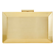 Buy COLLECTION by John Lewis Metal Box Clutch Bag Online at johnlewis.com