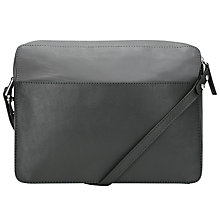 Buy Kin by John Lewis Casper Leather Sqaure Across Body Bag Online at johnlewis.com
