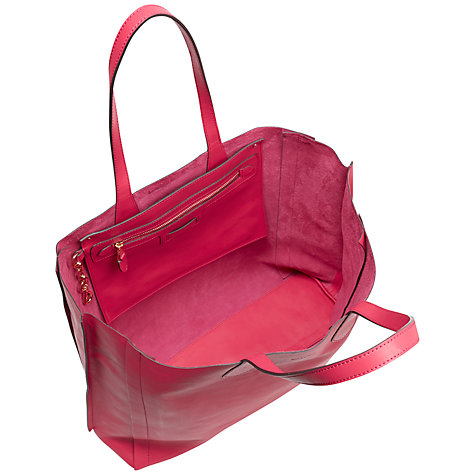 Buy Jaeger Hardy Leather Oversized Tote Bag Online at johnlewis.com