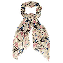 Buy Oasis Butterfly Print Scarf, Multi Online at johnlewis.com