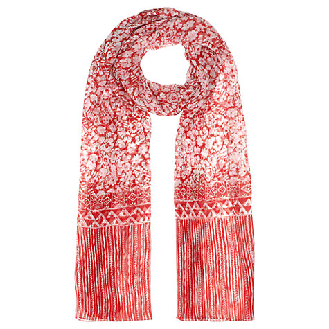 Buy Jigsaw Paint Floral Scarf Online at johnlewis.com