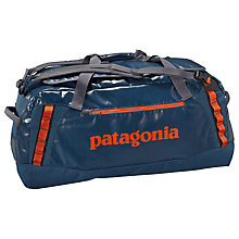 Buy Patagonia Black Hole 90L Duffel Bag, Blue Online at johnlewis.com