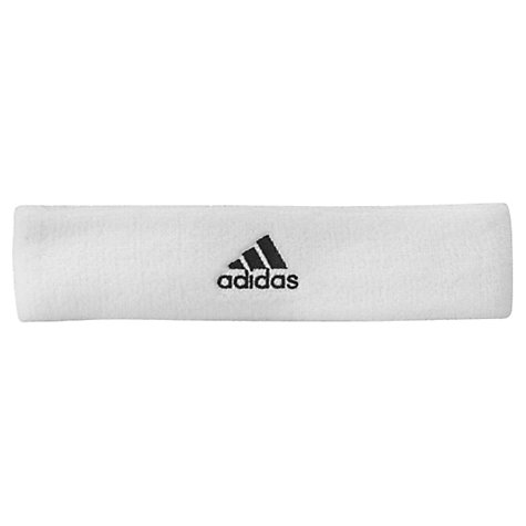 Buy Adidas Tennis Headband, White Online at johnlewis.com