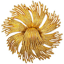 Buy Susan Caplan Vintage 1960s Monet Gold Plated Starburst Brooch Online at johnlewis.com