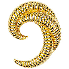 Buy Susan Caplan Vintage 1960s Monet Gold Plated Crescent Brooch Online at johnlewis.com