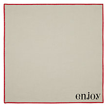 Buy John Lewis Enjoy Napkins, Set of 4 Online at johnlewis.com