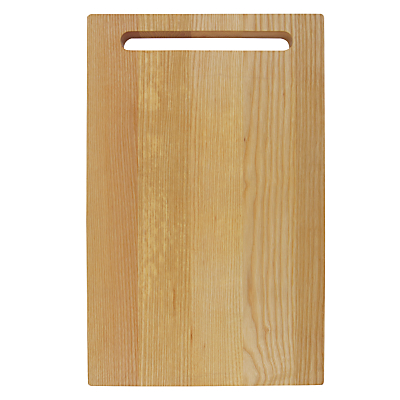 House by John Lewis Ash Chopping Board, Large
