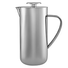 Buy John Lewis Stainless Steel Cafetiere, 8 Cup Online at johnlewis.com
