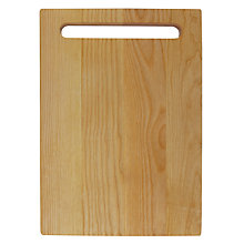 Buy House by John Lewis Ash Chopping Board, Medium Online at johnlewis.com
