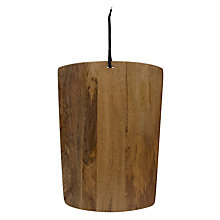 Buy John Lewis Mangowood Chopping Board, Large Online at johnlewis.com