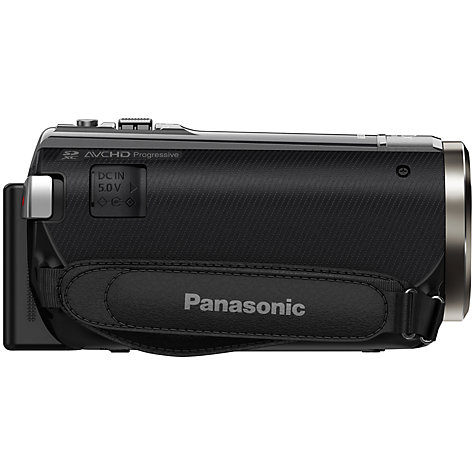 "Buy Panasonic HC-V550 HD 1080p Camcorder, 10MP, 50x Optical Zoom, Wi-Fi, NFC, 3"" LCD Screen Online at johnlewis.com"