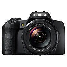 "Buy Fujifilm FinePix S1 Bridge Camera, HD 1080p, 16.4MP, 50x Optical Zoom, Wi-Fi, EVF, 3"" LCD Screen Online at johnlewis.com"