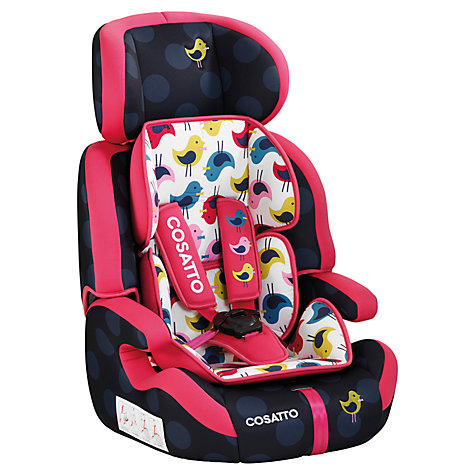 Buy Cosatto Zoomi Group 1, 2 & 3 Car Seat, Two For Joy Online at johnlewis.com