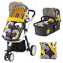 Buy Cosatto Giggle Hold Pushchair with Carrycot and Changing Bag, Moonwood Online at johnlewis.com