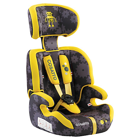 Buy Cosatto Zoomi Group 1, 2 & 3 Car Seat, My Robot Online at johnlewis.com