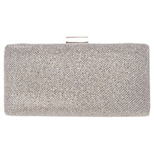 Buy Miss KG Olivia Clutch Bag, Silver Online at johnlewis.com