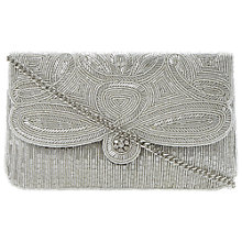 Buy Dune Eazie Beaded Clutch Bag Online at johnlewis.com