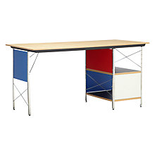 Buy Vitra Eames Desk Unit, Multi Online at johnlewis.com