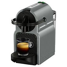 Buy Nespresso Inissia Coffee Machine by Magimix, Grey Online at johnlewis.com
