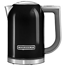 Buy KitchenAid 1.7L Kettle and 2-Slice Toaster, Onyx Black Online at johnlewis.com