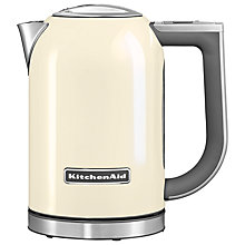 Buy KitchenAid 1.7L Kettle and 2-Slice Toaster, Almond Cream Online at johnlewis.com