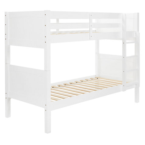 Buy little home at John Lewis Hickory Bunk Bed, White Online at johnlewis.com