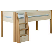 Buy Stompa Curve Midsleeper, Cream / Oak Online at johnlewis.com