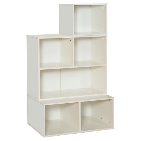 Buy Stompa 3 Unit Storage Combination, White Online at johnlewis.com