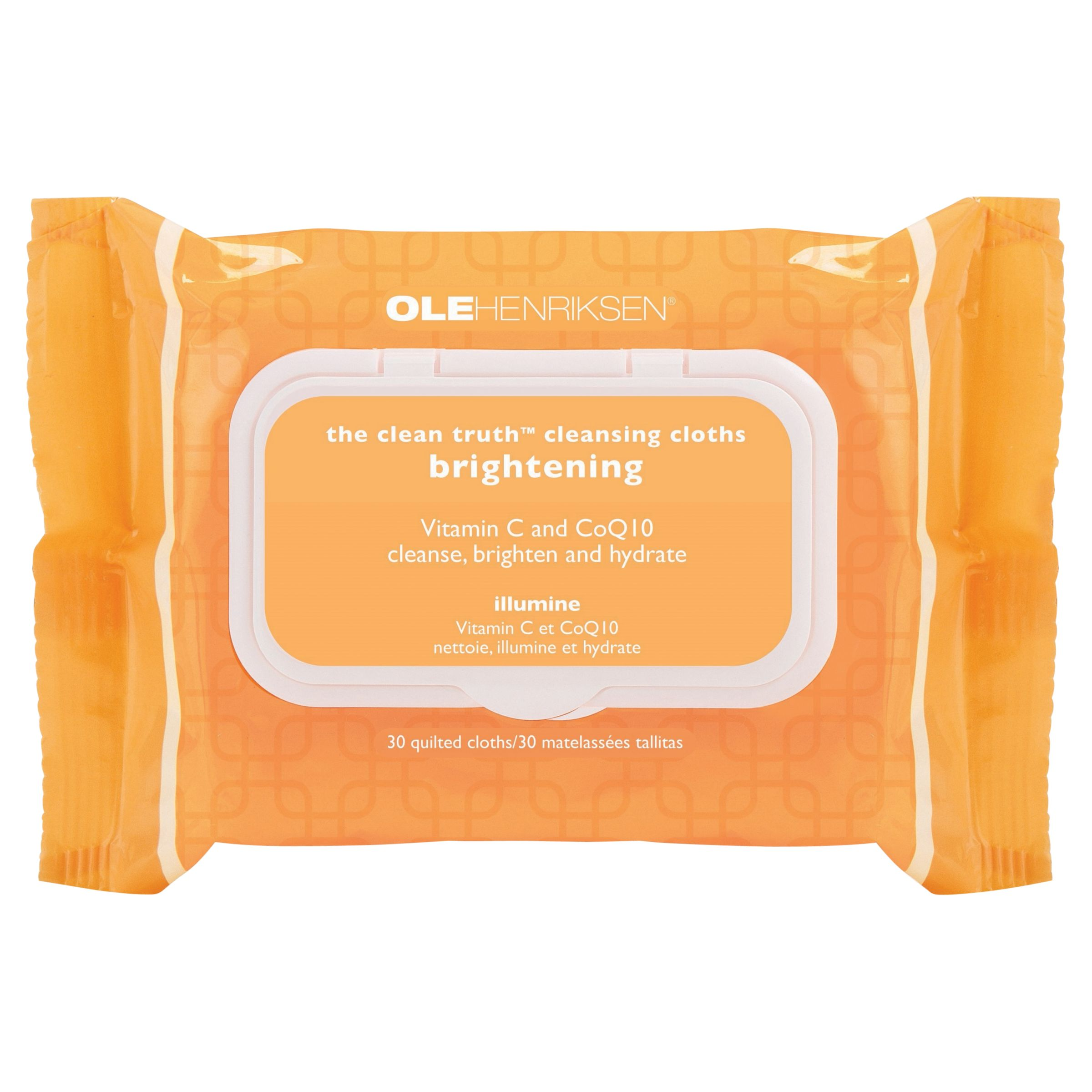 OLEHENRIKSEN OLEHENRIKSEN The Clean Truth Cleansing Cloths, Pack of 30