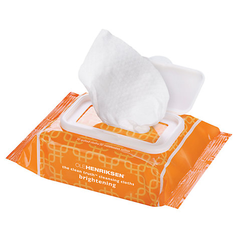 Buy OLEHENRIKSEN The Clean Truth Cleansing Cloths, Pack of 30 Online at johnlewis.com