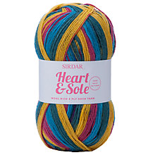 Buy Sirdar Heart & Sole Sock Yarn, 100g Online at johnlewis.com