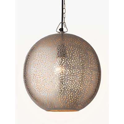John Lewis Lyra Etched Metal Ceiling Light