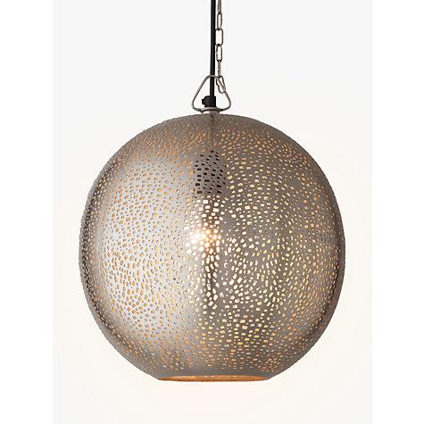 Buy John Lewis Lyra Etched Metal Ceiling Light
