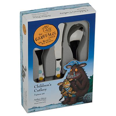 Arthur Price Gruffalo Children's Cutlery Set, 3 Piece
