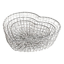 Buy Nkuku Heart Wire Baskets, Set of 3 Online at johnlewis.com