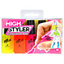 Buy Mustard Highstyler Highlighter Pens, Set of 4 Online at johnlewis.com