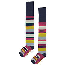 Buy Seasalt Deckhair Stripe Knee High Socks, Anem Online at johnlewis.com