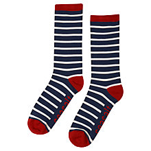 Buy Seasalt  Sailor Socks, Breton Stripe, Ecru Online at johnlewis.com